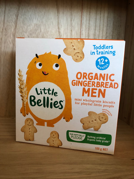 Little Bellies Mini Gingerbread Biscuits