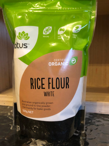 Lotus Rice flour - white (organic)