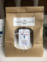 Abode Refill - Auto Dishwasher Powder 1kg -  Packaged in an Earth bag