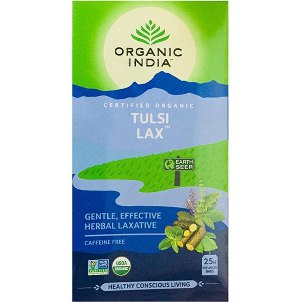Organic India - Tea Bags 25 - Wellness - Lax Tulsi Tea