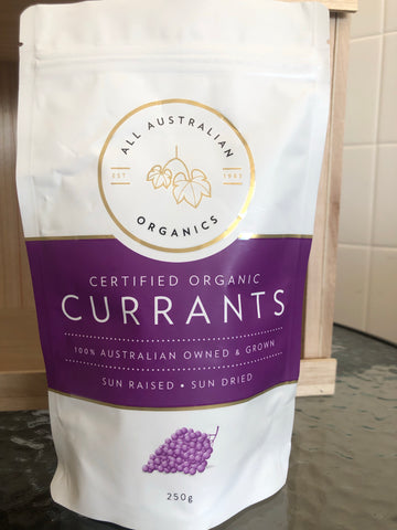 All Australian Organics Currants