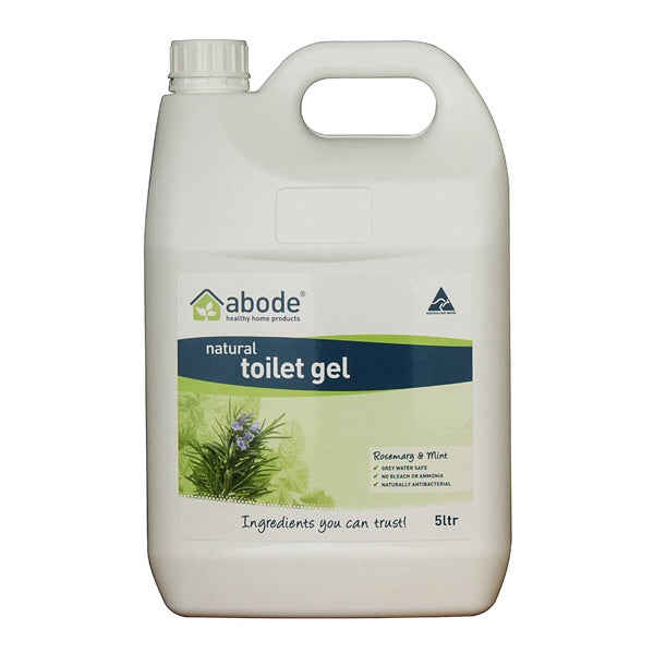 Abode Toilet Cleaning Gel 5L - Rosemary & Mint *(Bulky)