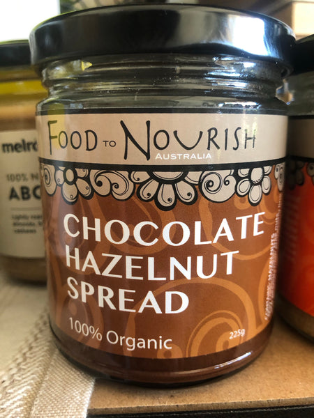 Food to Nourish Choc Hazelnut spread 225g