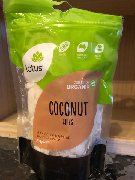 Lotus Coconut Chips (Organic) 200g