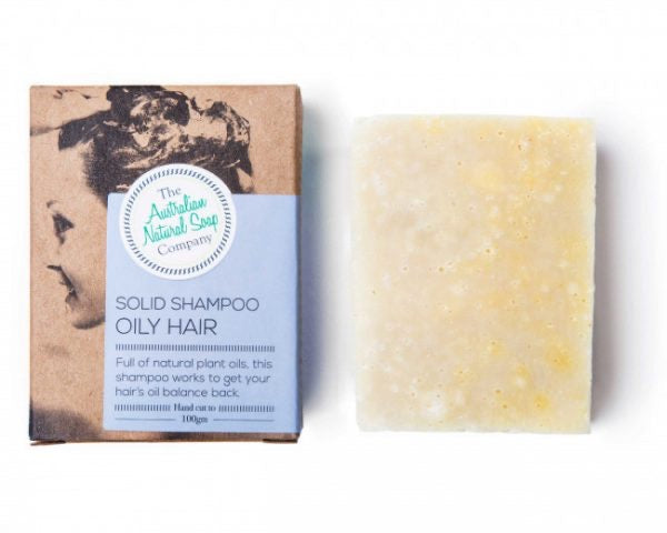 Solid Shampoo Bar - OILY HAIR - by The Aust Natural Soap Co
