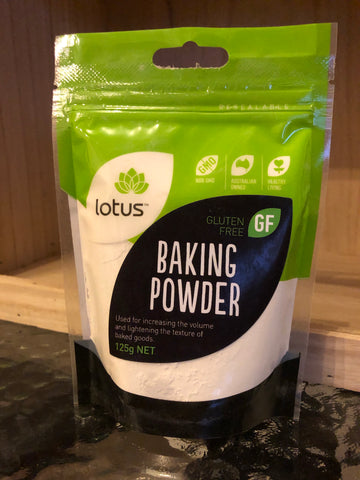 Lotus Baking powder (gluten-free) 125g