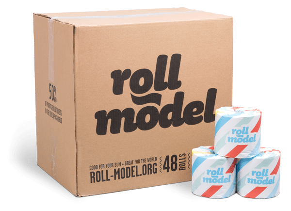 Toilet Paper - Roll Model Who Gives a Crap - 48 roll box (Bulky)