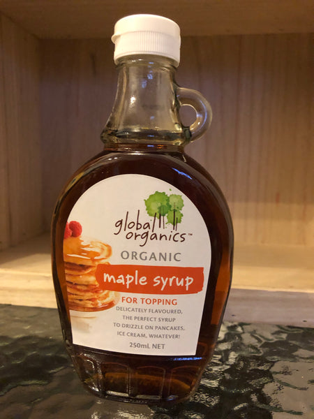 Global Organics Maple Syrup (Organic) 250ml