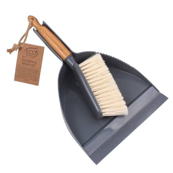 Eco Basics Dustpan and Brush Set