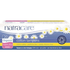 Natracare Organic Cotton Tampons Super Plus 20 pack