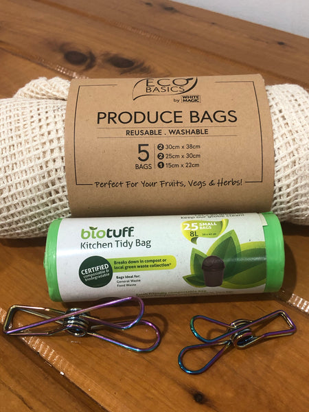Start up pack - Pegs, Rubbish & Produce