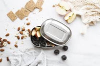 Ever Eco Stainless Steel Bento Snack Box - 3 compartments