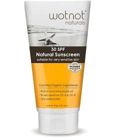 Wotnot Natural Sunscreen Sensitive Skin SPF 30+ (150g)