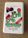 Ouch! Organic herbal personal outdoor spray 20ml