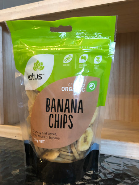 Lotus Banana Chips (Organic) 150g