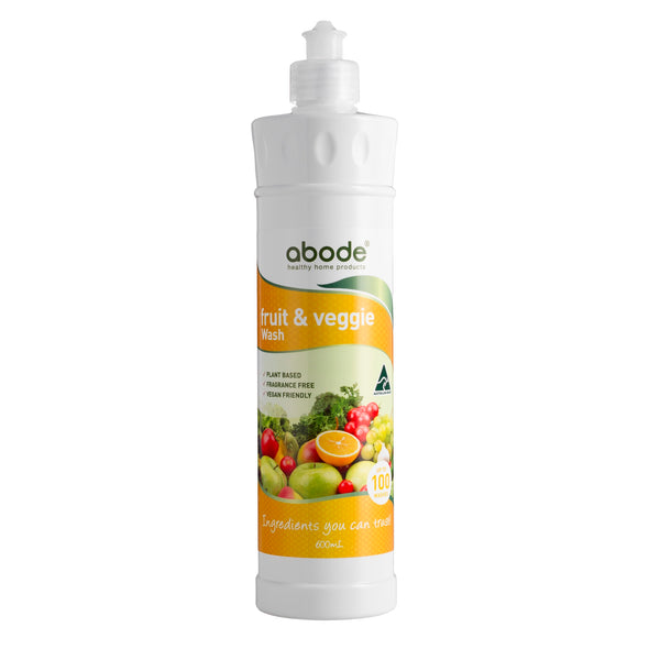 Abode Fruit & Veggie Wash 600ml