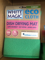 White Magic Dish Drying Mat - Forest