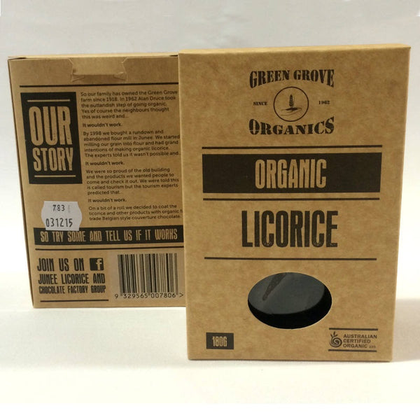 Green Grove Organics Licorice 180g