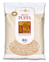 Organic Millet Puffs 175g - by Good Morning Cereals