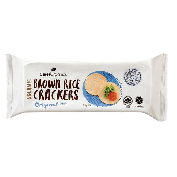 Ceres Brown Rice Crackers - Original