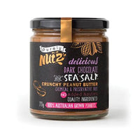 Pure Nutz Peanut Butter - Crunchy Dark Chocolate & Sea Salt 270g