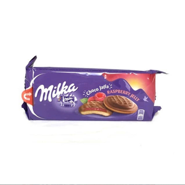 Milka Raspberry Jelly Dessert