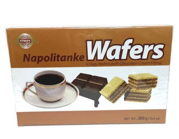 Evropa Chocolate Cream Wafers