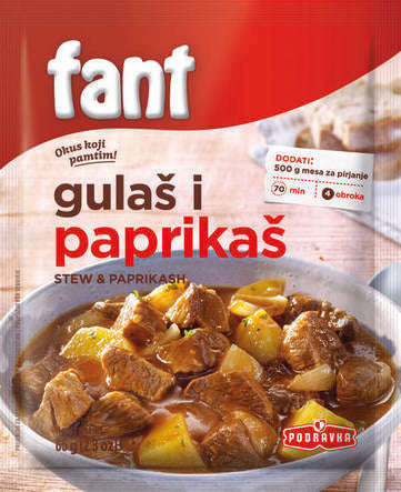 Podravka Fant for Beef Stew