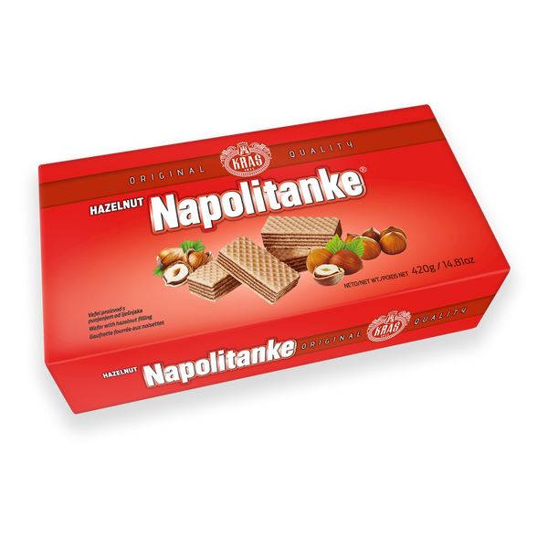 Kras Napolitanke With Hazelnut 330g