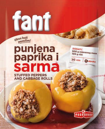 Podravka Fant for Stuffed Peppers