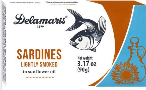 Delamaris Sardine Lightly Smoked