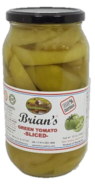 Brian's Green Pepper Sliced 1kg