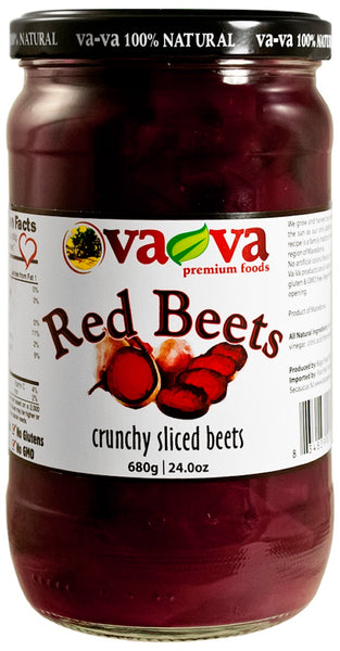 Vava Red Beets 680g