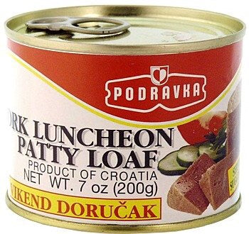 Podravka Pork Luncheon Loaf
