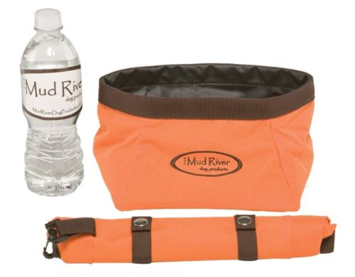 Mud River Renegade Roll-up Food/Water Dog Dish
