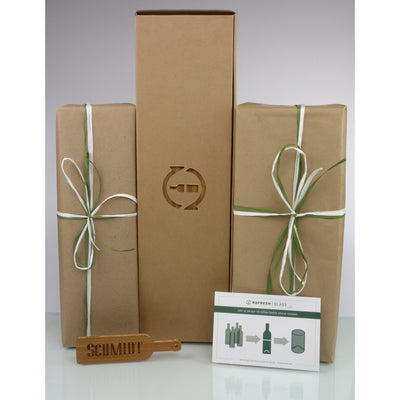 Deluxe 8-Glass Gift Set - Monogram & Crest-Refresh Glass
