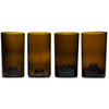 Amber 16oz 4 pack Glasses-Refresh Glass