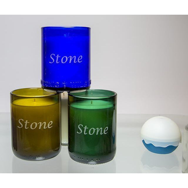 4-Pack Candles - Name-Refresh Glass
