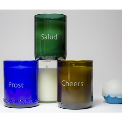 4-Pack Candles - Cheers-Refresh Glass