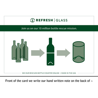 2-Glass Gift Set - Cheers-Refresh Glass
