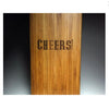 "18"" BAMBOO BOARD IN THE SHAPE OF A WINE BOTTLE-Refresh Glass"
