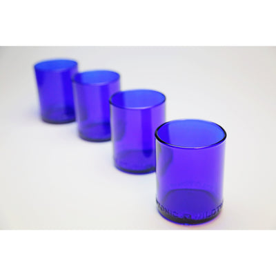 4-Glass Gift Set - Cobalt-Refresh Glass