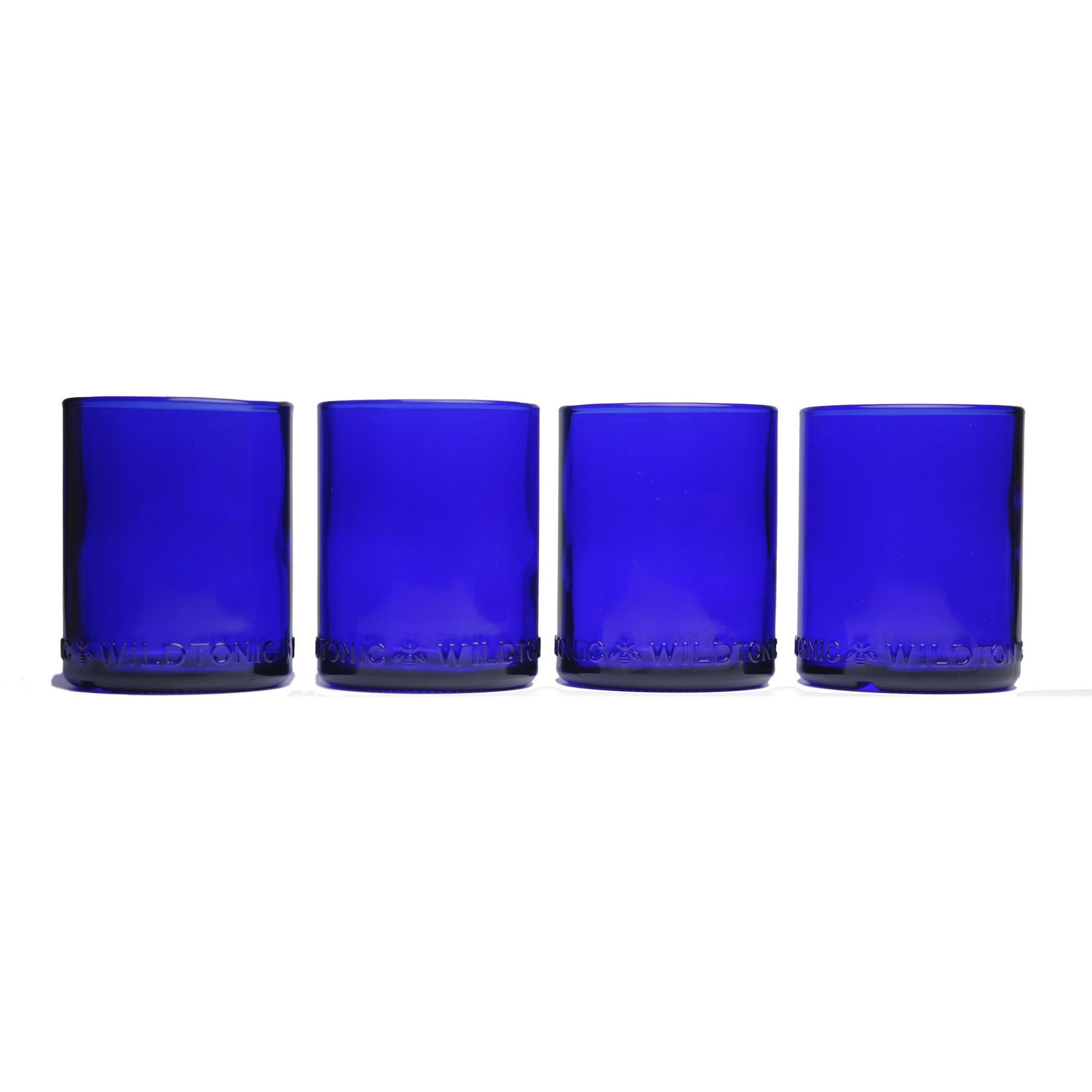 Cobalt Blue 12oz 4 pack-Refresh Glass