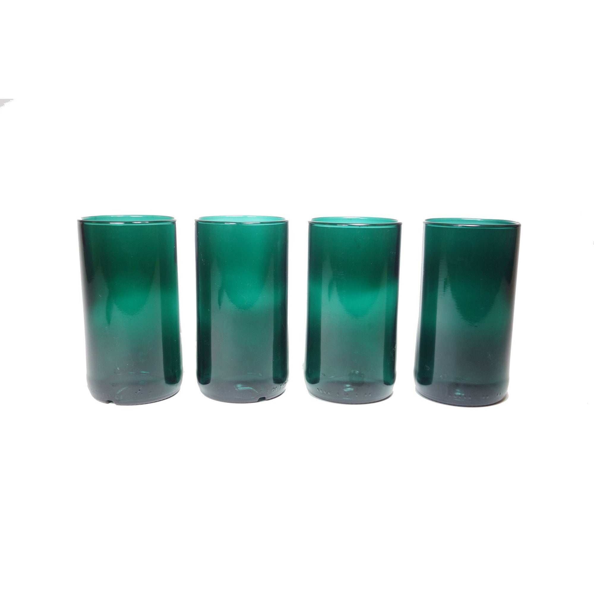Teal 16oz 4 pack Glasses-Refresh Glass