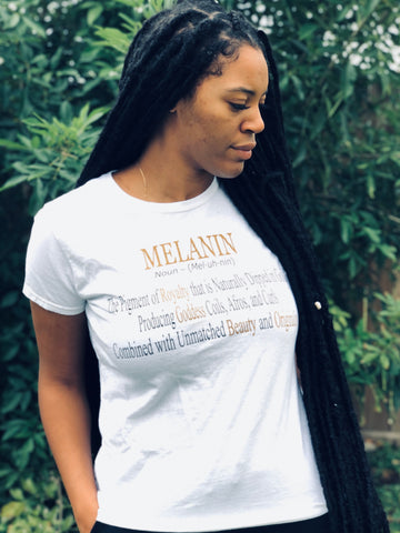 Definition of Melanin - Woman's T-Shirt