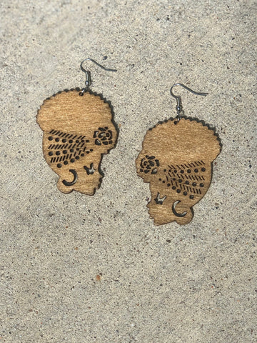Afro Diva Earrings