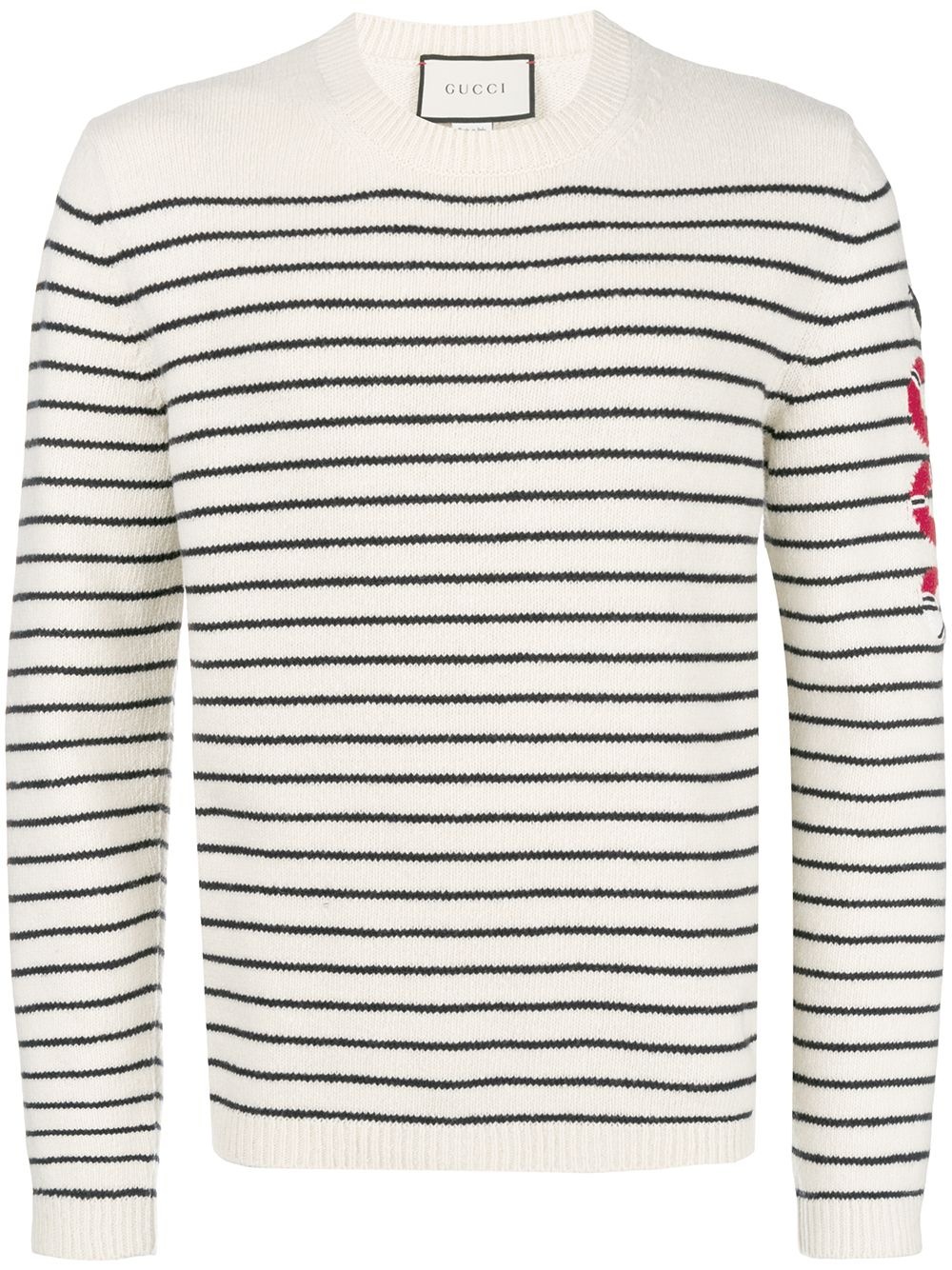 a1de3aab9 Gucci Striped cashmere knit sweater – SUPBOXLAB