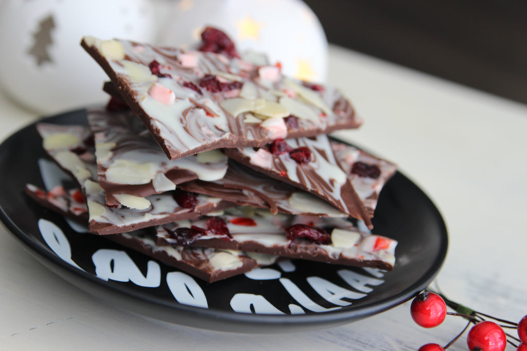 Peppermint Christmas Bark
