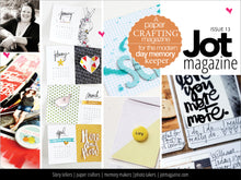 Jot Mag Issue 13 Instant Download PDF
