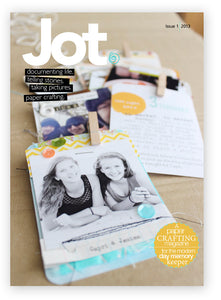 Jot Mag Issue 1 Instant Download | Collector's Edition